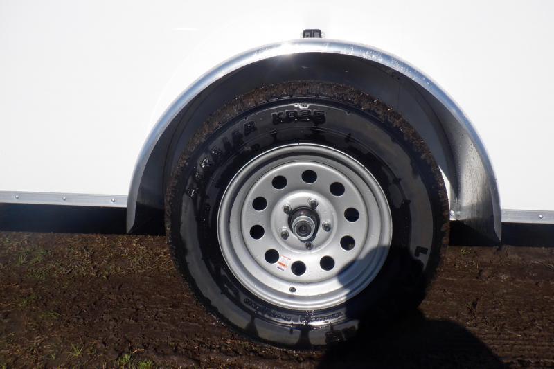2021 Doolittle Premier 6x12 SA Cargo rear ramp