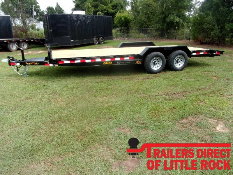 2021 Doolittle Trailer Mfg Xtreme 84' Wide 10K Equipment Trailer