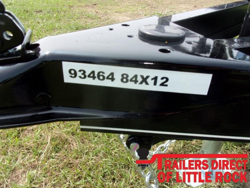 2021 Doolittle Trailer Mfg 84x12 Single Axle 3K Utility Trailer