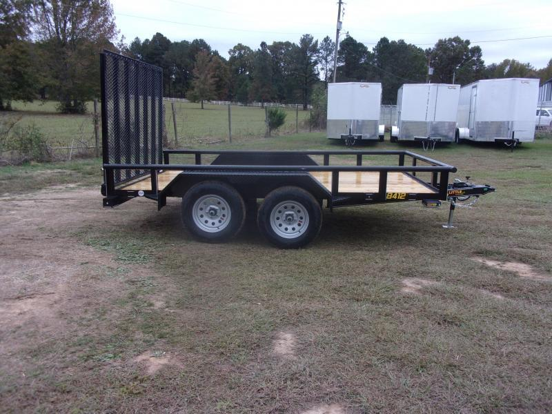 Doolittle  84x12 7K GVWR Utility Trailer 5' EZ-Lift Gate