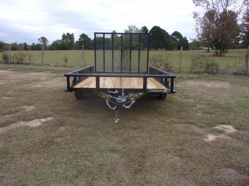 Doolittle  84x12 7K GVWR Utility Trailer 5' EZ-Lift Gate