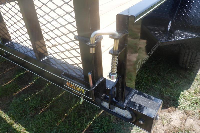 2022 Doolittle Trailer Mfg 77x14 Utility Trailer