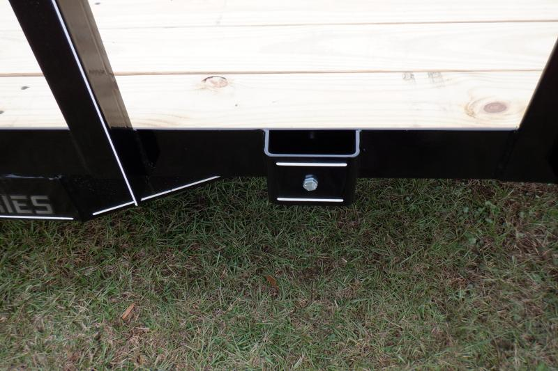"Doolittle  84x18 7K gvwr Utility Trailer 5"" ez-lift gate"
