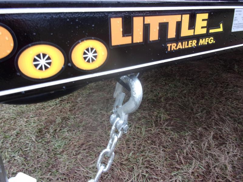 Doolittle 84x18 7K gvwr Utility Trailer dove tail 5' Ez- lift gate