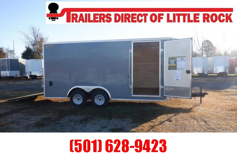 Doolittle 8.5X16 7K Enclosed Cargo REAR RAMP