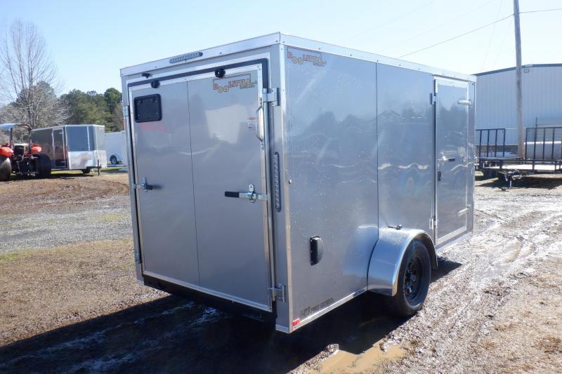 Doolittle  6x12  Enclosed Cargo Trailer Rear ramp