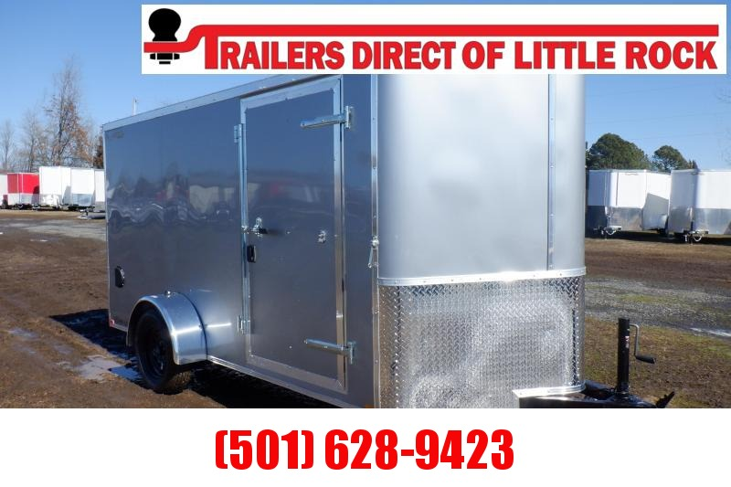 Doolittle  6x12  Enclosed Cargo Trailer Rear ramp
