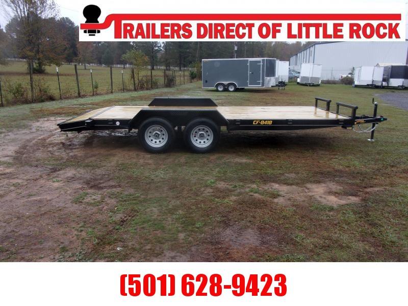 Doolittle 84X18 Channel Flatbed 7K GVWR Equipment Trailer