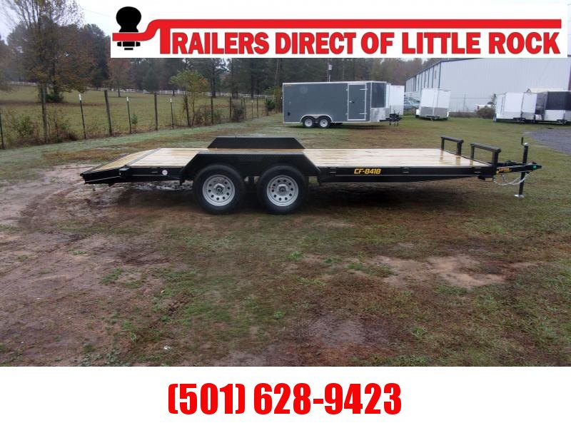 Doolittle 84X18 Channel Flatbed 7K GVWR Equipment Trailer