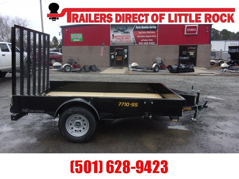 Doolittle  77X10 SS  Utility Trailer TOOL BOX 5' EZ-LIFT GATE