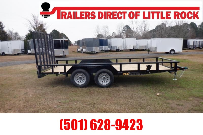 Doolittle 84X16 7K Utility Trailer 5' EZ-LIFT GATE