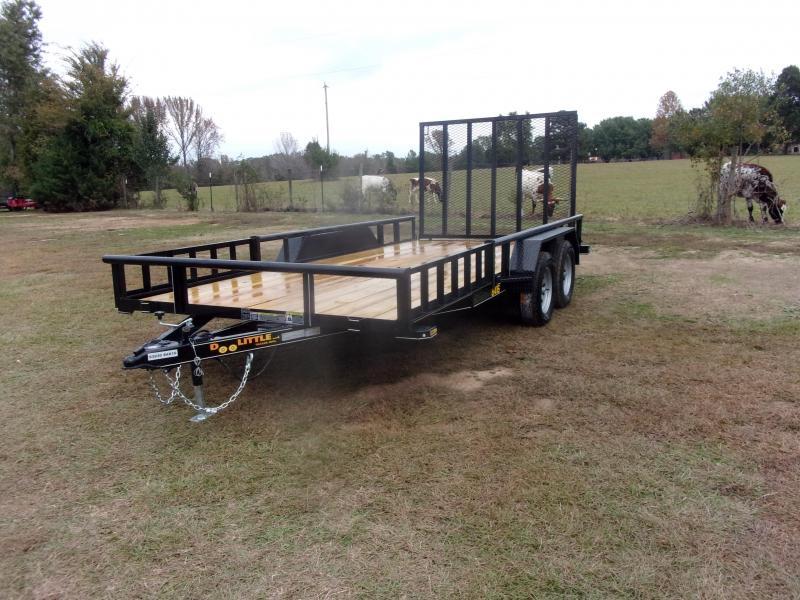 2021 Doolittle UTILITY  84x16 SIDE LOAD ATV RAMP REAR 5' EZ-LIFT GATE