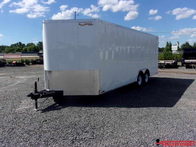 2020 Doolittle Trailer Mfg Bullitt 8.5' Wide Tandem Axle 7K Enclosed Cargo Trailer