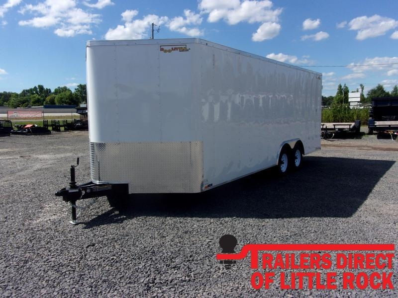 2020 Doolittle Trailer Mfg Bullitt 8.5x20 Tandem Axle 7K Enclosed Cargo Trailer
