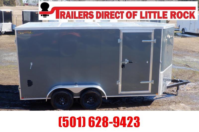 Doolittle Premiere 7x14 7K GVWR Enclosed Barn Door