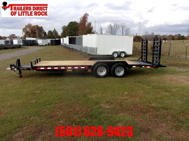 Doolittle  Xtreme 82x20 14K GVWR Equipment Trailer