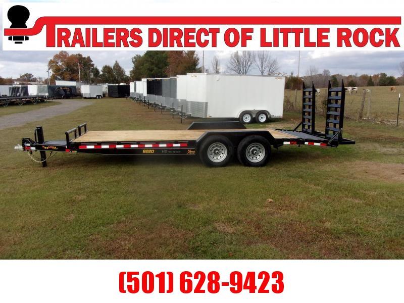 Doolittle  Xtreme 82x20 14K GVWR Equipment Trailer
