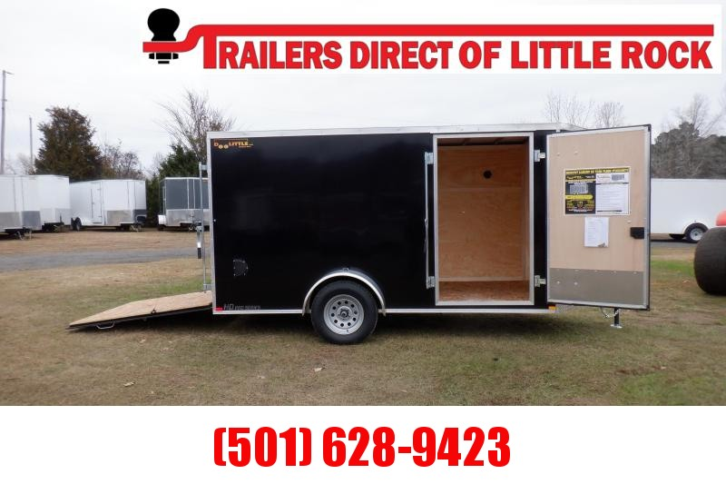 Doolittle 6X12 Enclosed Cargo REAR RAMP