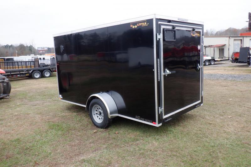 Doolittle Bullitt 6X12 Enclosed Cargo REAR RAMP
