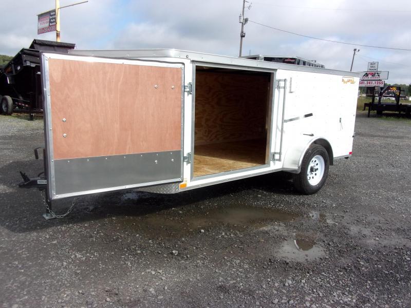 Doolittle 6x12 SA Barn Door 2 SIDE DOORS  4' TALL
