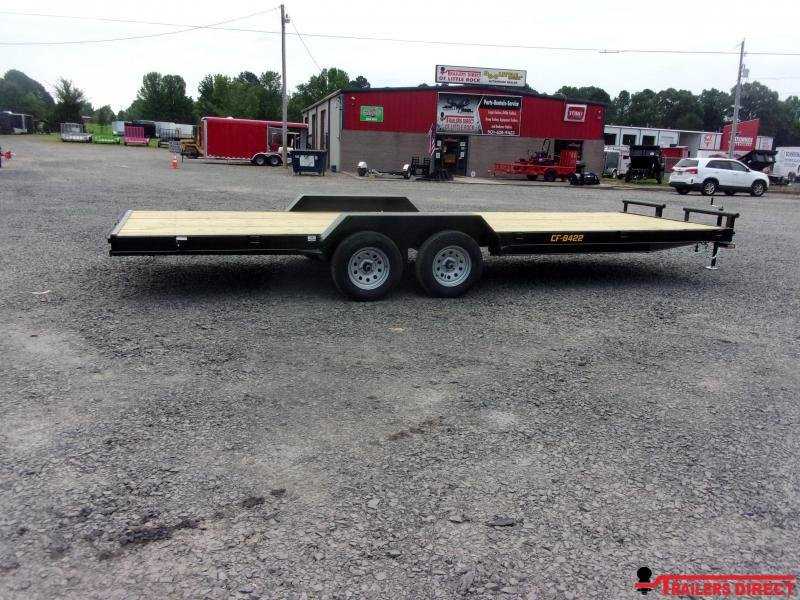 2020 Doolittle Trailer Mfg Channel Flatbed 7K Equipment Trailer