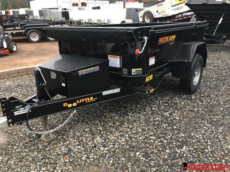 2020 Doolittle Trailer Mfg Masterdump 6000 Series 5 x 8 Single Axle 5.2K Dump Trailer