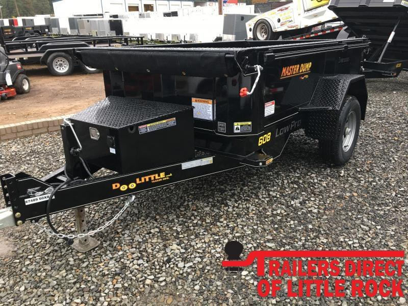 2020 Doolittle Trailer Mfg Masterdump 6000 Series 5 x 8 Single Axle 5.2K Dump Trailer