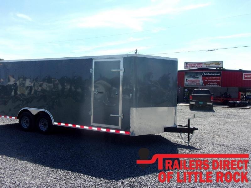 2021 Doolittle Trailer Mfg Bullitt 8.5' Wide Tandem Axle 10K Enclosed Cargo Trailer