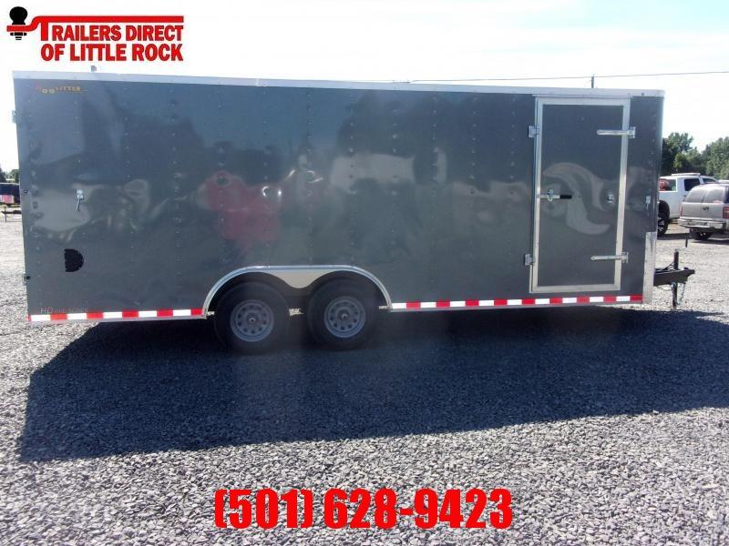2021 Doolittle Trailer Mfg Bullitt 8.5x20 Tandem Axle 10K Enclosed Cargo Trailer