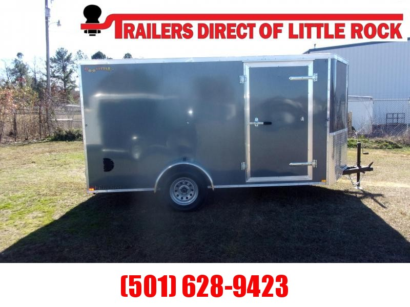 2021 Bullitt 6X12 Enclosed Cargo Trailer REAR RAMP
