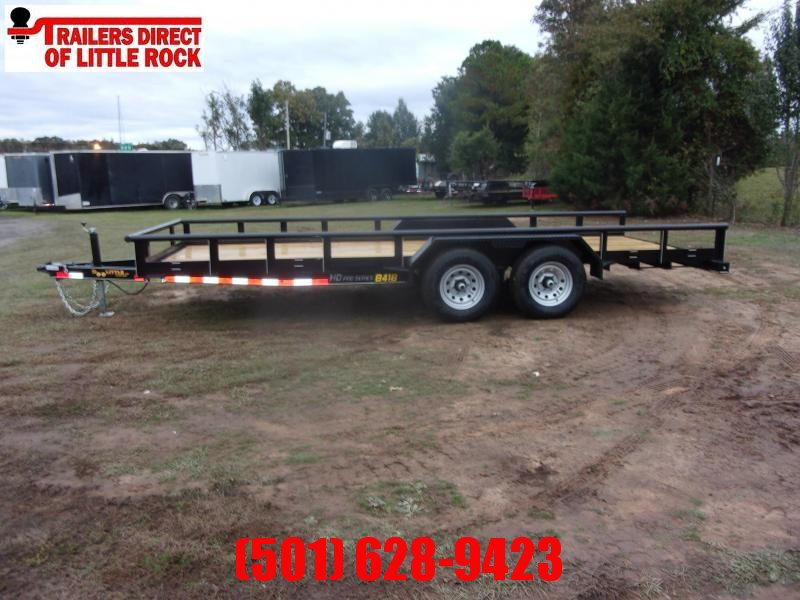 Doolittle 84X18 PIPE TOP UTILITY  10K GVWR SELF STORE RAMPS