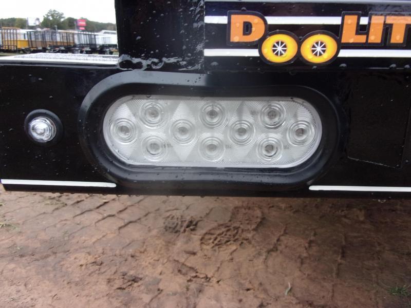 Doolittle 84X18 PIPE TOP UTILITY  10K GVWR SELF STORE RAMPS