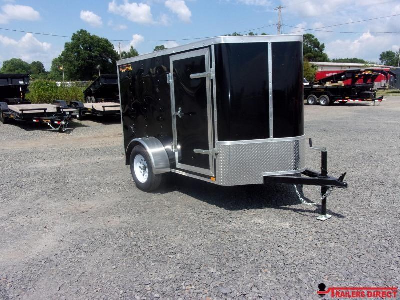 2020 Doolittle Trailer Mfg Bullitt 5' Wide Single Axle Enclosed Cargo Trailer