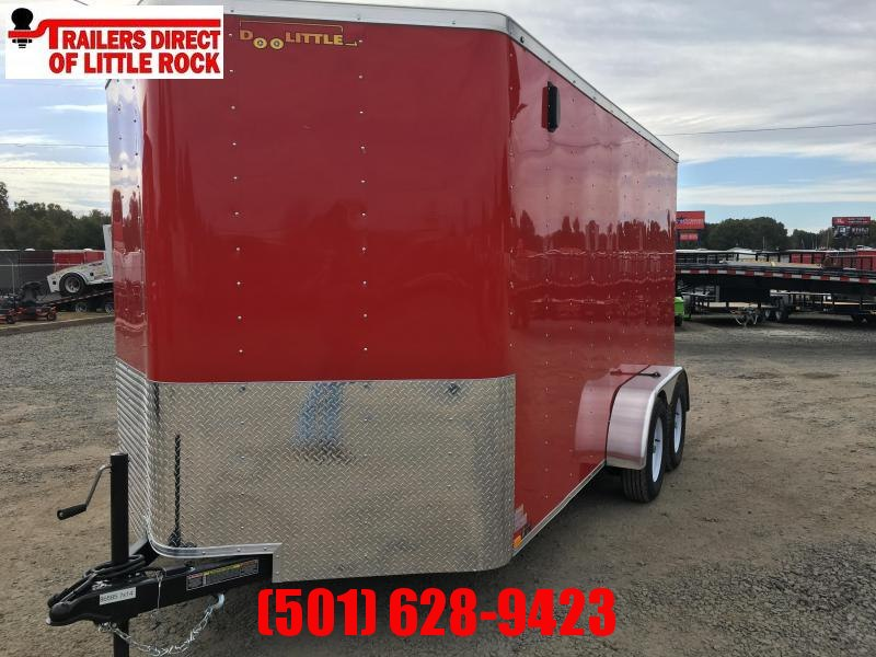2020 Doolittle Trailer Mfg Bullitt 7x14 Tandem Axle 7K Enclosed Cargo Trailer