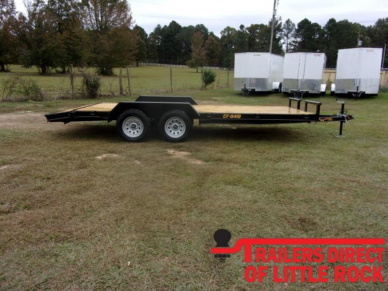 2021 Doolittle Channel Flatbed 7K GVWR Equipment Trailer
