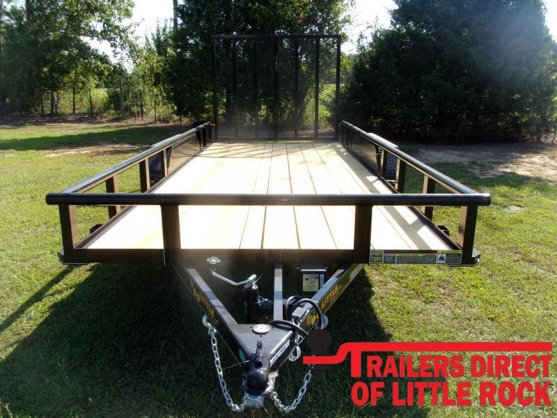 2021 Doolittle Trailer Mfg 77x16 Tandem Axle 7K Utility Trailer