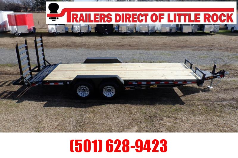 Doolittle  Xtreme 84x20  10K GVWR Equipment Trailer