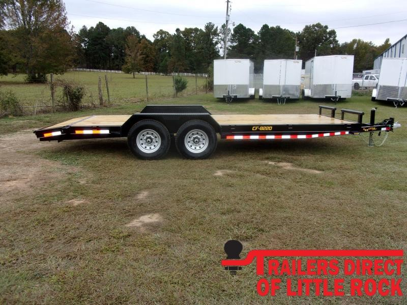 2021 Doolittle Channel Flatbed 14K GVWR Equipment Trailer