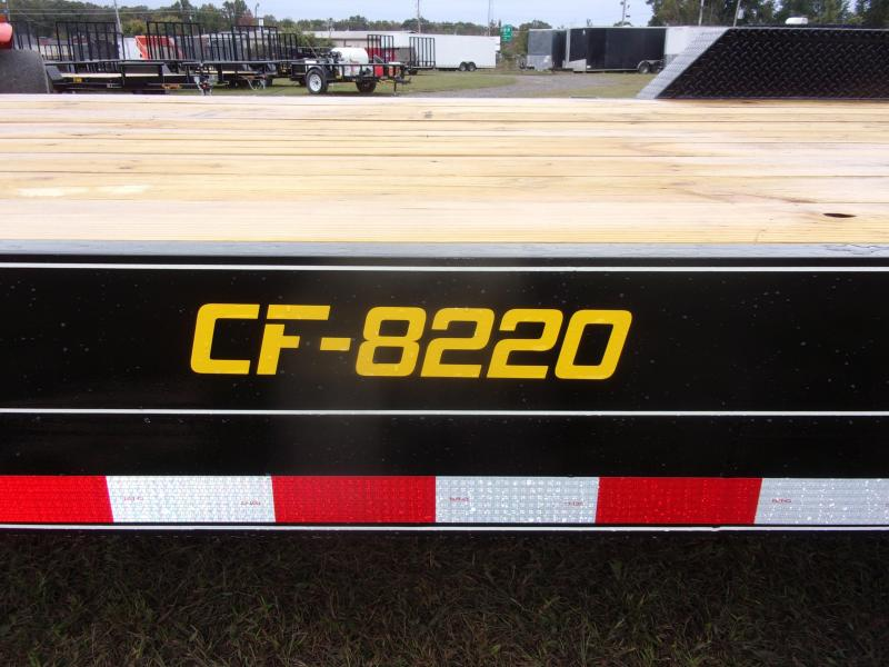 Doolittle 82x20 Channel Flatbed 14K GVWR Equipment Trailer