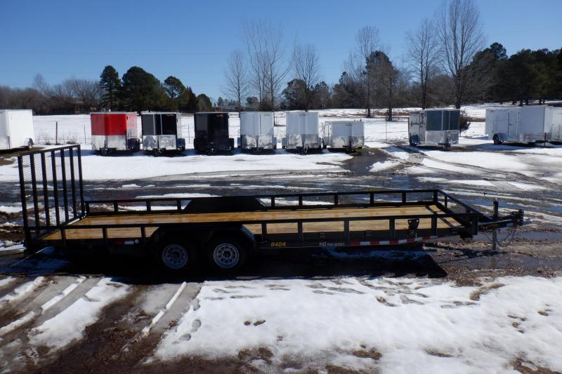 Doolittle 84x24 10K GVWR Utility Trailer 5' EZ-LIFT Gate