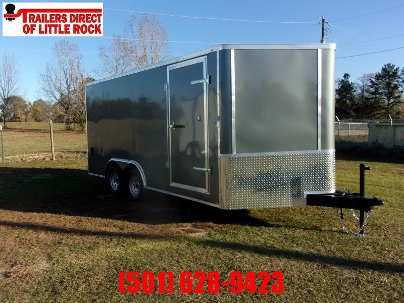 Doolittle Bullitt 8.5x16  7K gvwr Enclosed rear ramp