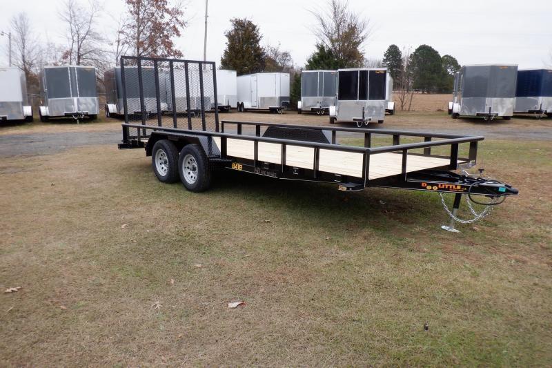 2021 Doolittle Trailer Mfg 840 Series Tandem Axle 7K Utility Trailer
