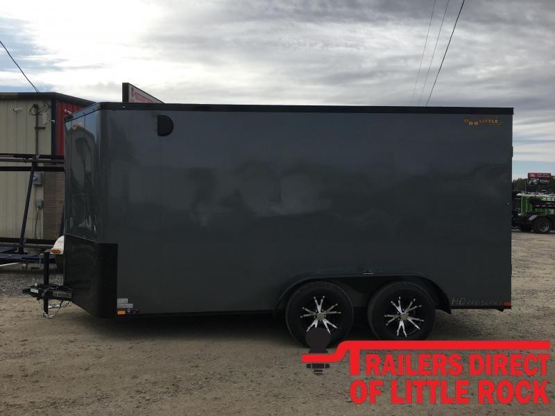 2020 Doolittle Trailer Mfg Bullitt 7 Wide Tandem Axle 7K Enclosed Cargo Trailer