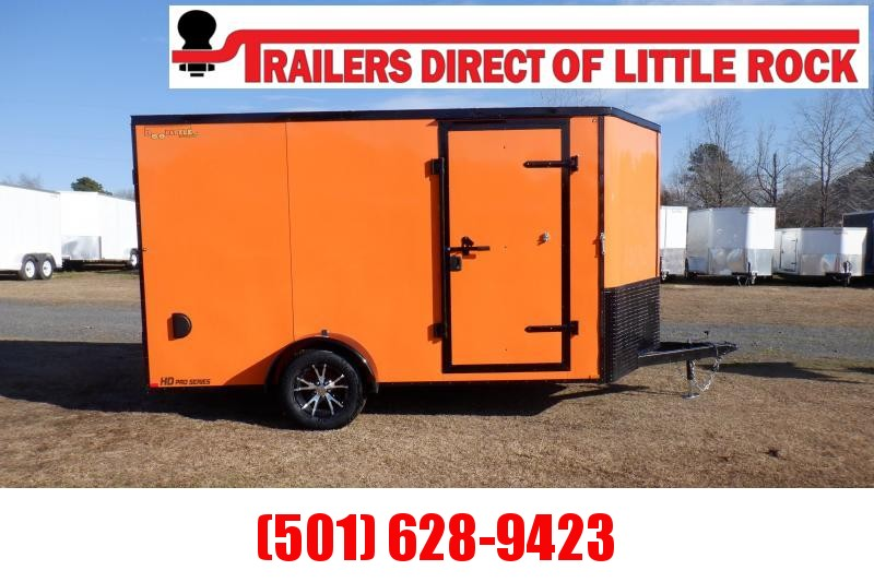 Doolittle 7X12 Enclosed Cargo Rear Ramp Blackout pkg.