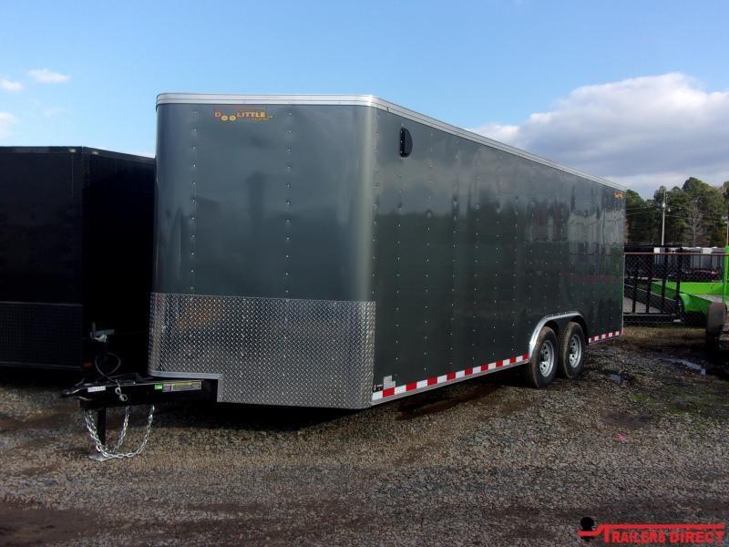 2020 Doolittle Trailer Mfg Bullitt 8.5' Wide Tandem Axle 10K Enclosed Cargo Trailer