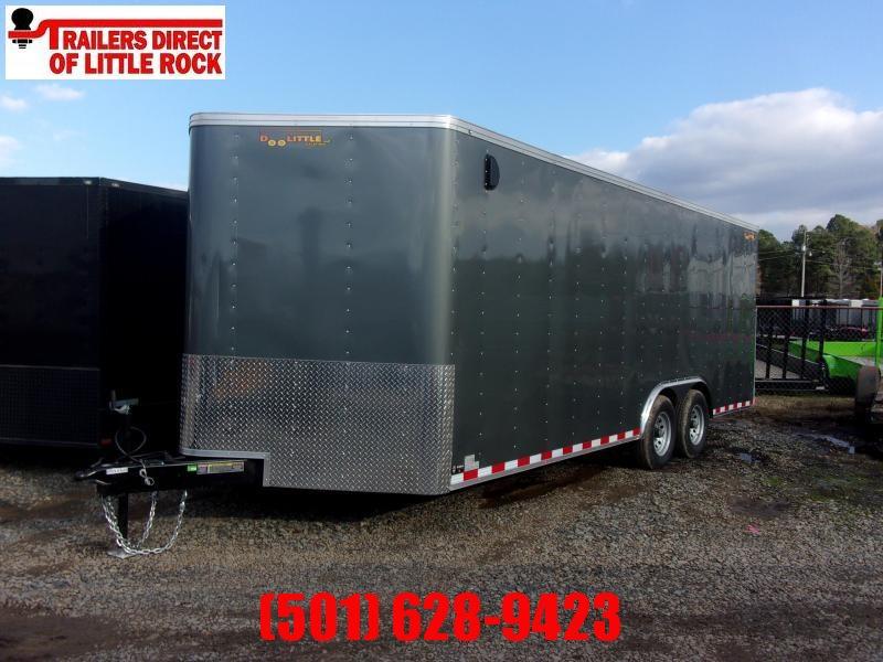2020 Doolittle Trailer Mfg Bullitt 8.5x20 Tandem Axle 10K Enclosed Cargo Trailer