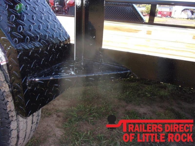2021 Doolittle Trailer Mfg 77X14 Single Axle 3K Utility Trailer