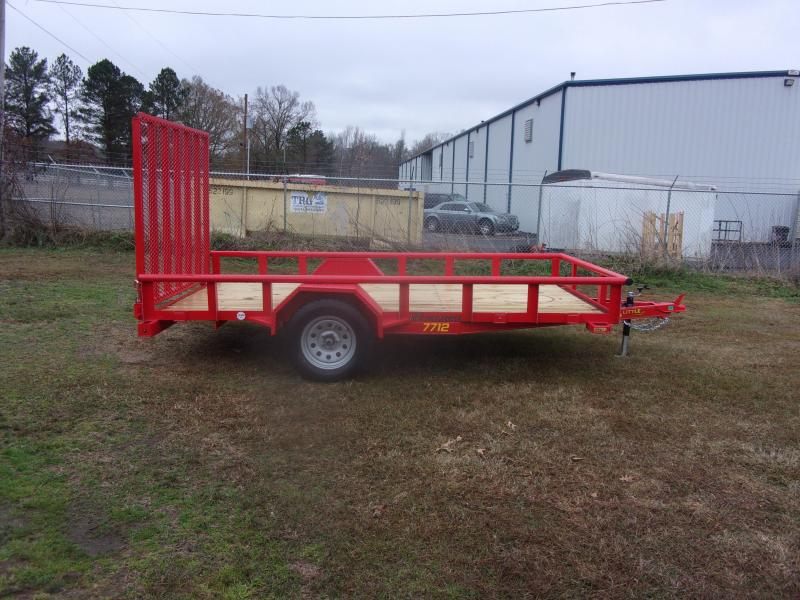 Doolittle 77X12 Utility Trailer EZ-STEPS 5' EZ-LIFT GATE