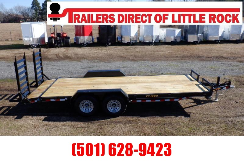 Doolittle Channel Flatbed 82x20 14K gvwr Equipment Trailer