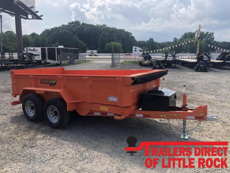 2019 Doolittle Trailer Mfg RENTAL Master Dump 82x14 14k Dump Trailer